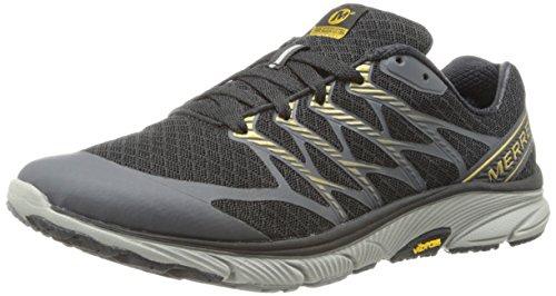 MERRELL Bare Access zapatos para hombre Gris Ultra J01653 Black / Gold
