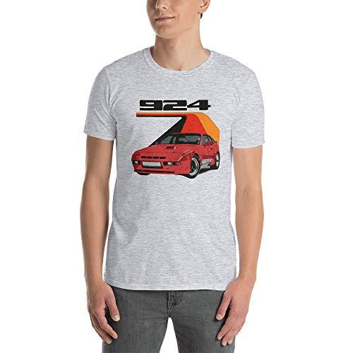 1980 Porsche 924 Carrera GT Softstyle T-Shirt Sport Grey