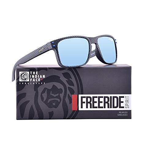 Sol Gafas Spirit de 55 Carbon Freeride FACE INDIAN Fiber Unisex THE qwU8HY