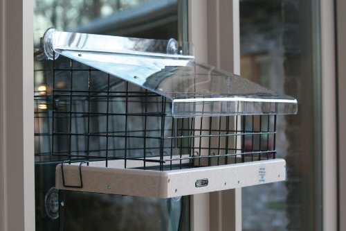 Birds Choice WM200 Window Mount Open Pla - Black Recycled Plastic Hopper Shopping Results