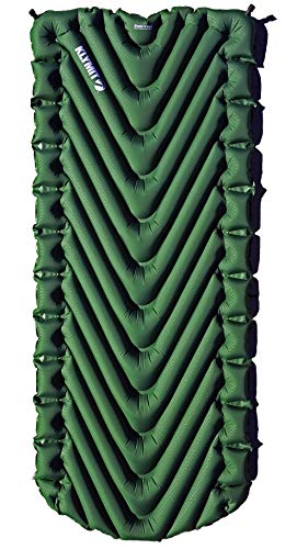 - Klymit Static V Luxe Sleeping Pad for Camping, Hiking, and Backpacking (Moss Green)