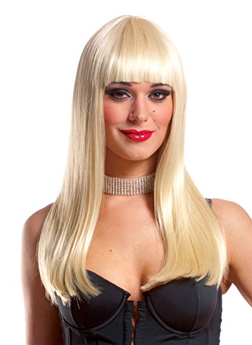 Costume Culture Women's Mistress Wig Deluxe, Blonde, One Size (2)