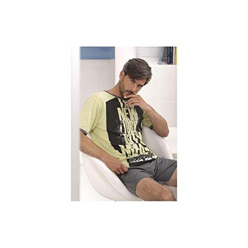 MASSANA - Pijama p151327, hombre, color lima, talla m