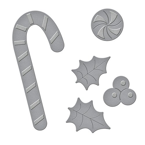 (Spellbinders Peppermint Stick Etched/Wafer Thin Dies)