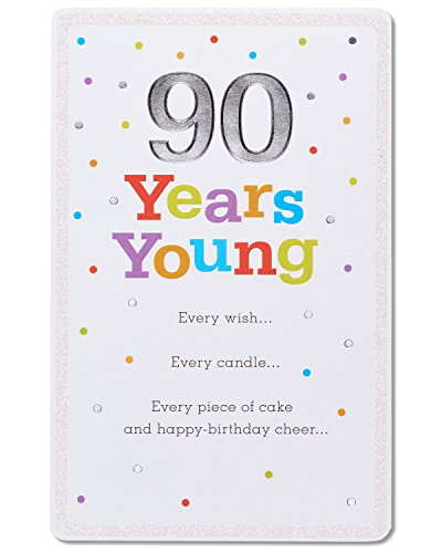 American Greetings 90th Birthday Card