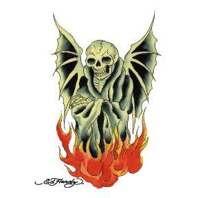 Amazon.com: Ed Hardy Skull Temporary Tattoo: Health & Personal Care