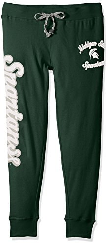 (NCAA by Outerstuff NCAA Michigan State Spartans Juniors Boyfriend Jogger, Hunter Green, Large(11-13) )