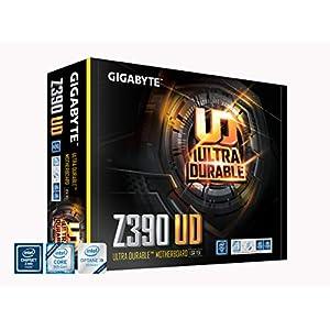 GIGABYTE Z390 UD, Intel LGA1151/Z390/ATX/M.2/Realtek ALC887/Realtek 8118 Gaming LAN/HDMI/Gaming Motherboard