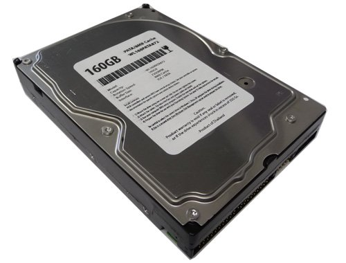 White Label 160GB 8MB Cache 7200RPM Ultra ATA/100 (PATA) 3.5