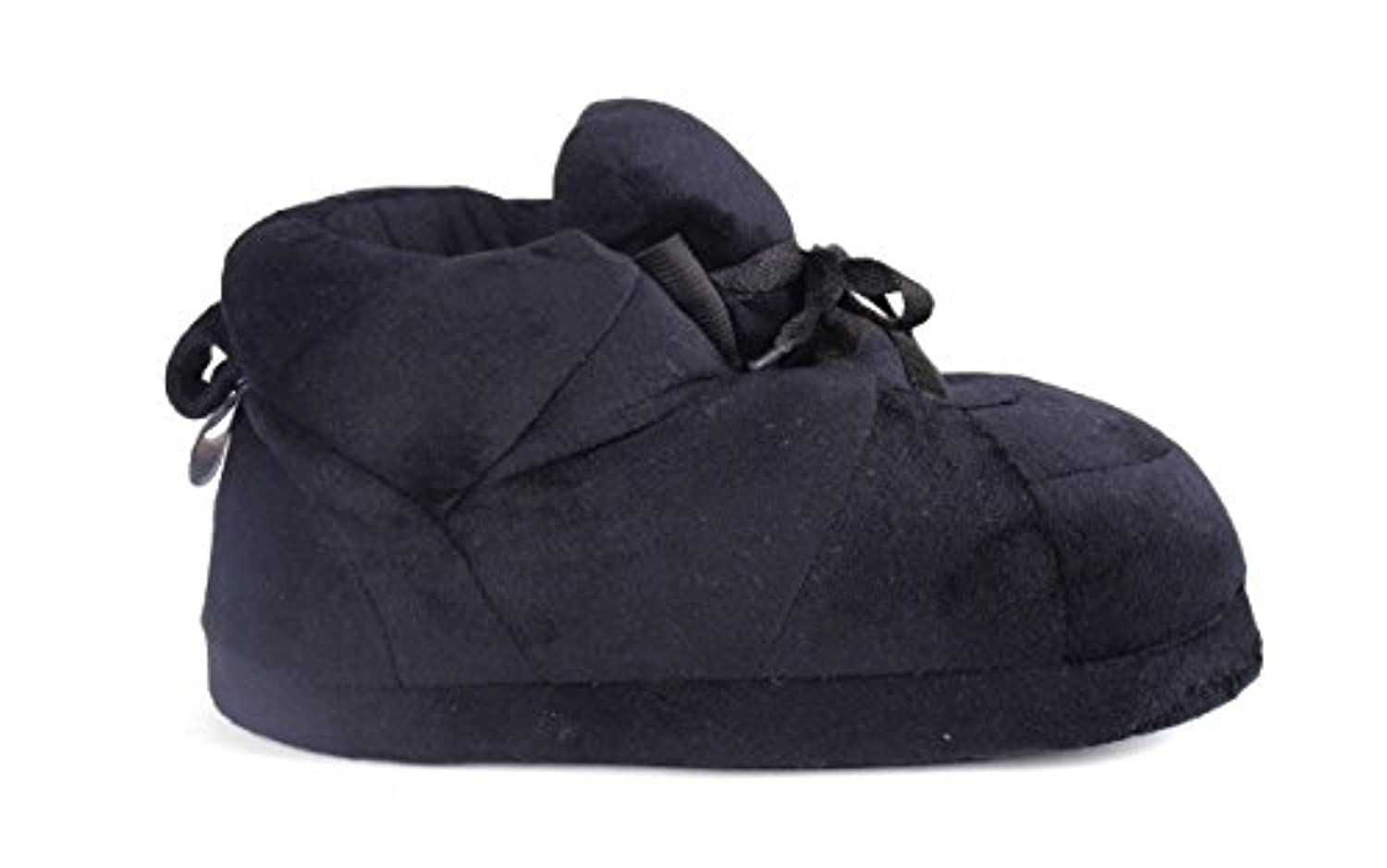 Happy Feet - All Black - Slippers - Small