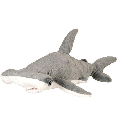 Wild Republic real hammerhead shark stuffed sea creatures cuddlekins 13238 by Wild Republic (Wilde Republic)