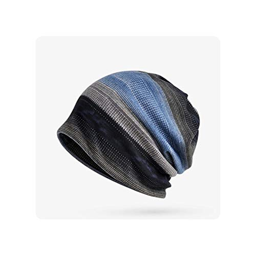 Warm Hat Unisex Knitted Cap Hat Men's Knit Hats Skullies Beanies Plus Velvet Warm Ski Hat,2]()