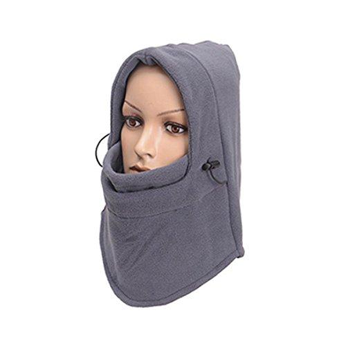 - Exteren Windproof Ski Full Face Mask Motorcycle Bicycle Neck Warmer Balaclava Hood for Men Women Cycling Hat Outdoors Sport Helmet (C)