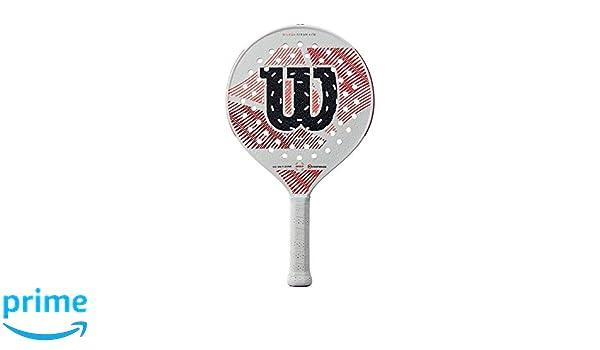 Amazon.com : Wilson Steam Lite Gruuv Platform Tennis Paddle ...