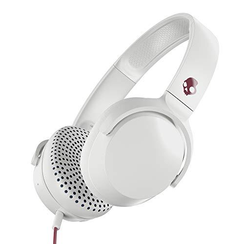 Skullcandy Riff On-Ear Headphones, Vice/Gray/Crimson (S5PXY-L635)