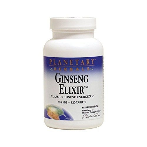(Planetary Herbals Ginseng Elixir Tablets, 120 Count by Planetary Herbals)