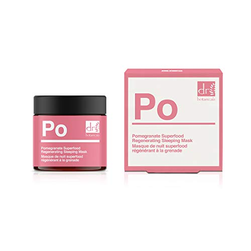 The Apothecary Collection by Dr Botanicals Pomegranate Superfood Regenerating Sleeping Mask from Dr Botanicals