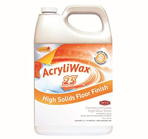 Acryliwax 25 High Gloss Commercial Floor Wax & Floor Finish 1 Gallon ()