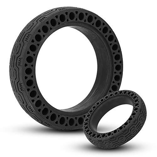 SGMY Neumático de fluorescents Rueda de Repuesto de 8,5 Pulgadas de células sólido 8 1/2X2 para Delantero/Trasero de neumáticos M365 Y Otros ...