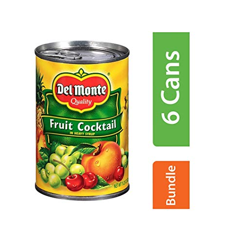 (Del Monte Classic Fruit Cocktail in Heavy Syrup 15.25 Oz (Pack of 6) )