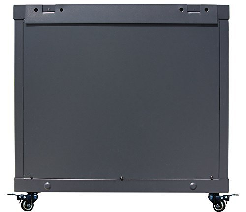 15U 35'' Depth Server Rack Cabinet Enclosure Fully Equipped! ACCESSORIES FREE! Fits Most Server Equipment Fully Lockable Network IT 19'' Enclosure Box