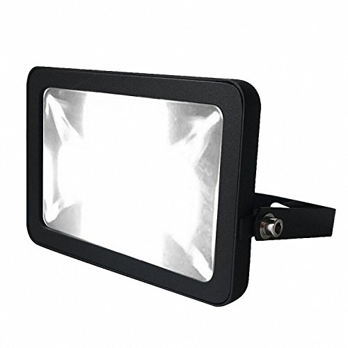 LUXMORE FL30WW 30W LED Flood Lights, 300W Halogen Bulb Equivalent, Waterproof 2400lm, Warm White Color, Outdoor Security Lighting, Spotlights, Wall Washer Lights [Energy Class A+] [Energy Class A+]