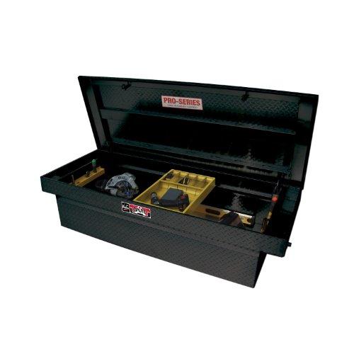 UPC 707742050880, Brute 80-RB155FL-B Pro Series Crossover Full Lid Mid Size/Down Size Extra Wide & Shallow Depth Black Powder Coat Aluminum Tool Box