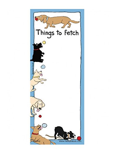 Hatley Things To Fetch Dogs Magnetic List, Print, One-Size