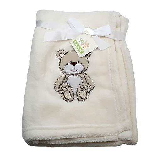Baby Blankets for Boys & Girls, Teddy Bear Theme, Soft Plush for Newborn & Toddler   Keep Babies Warm & Cozy, Nursery Decor, Car Seat & Stroller Cover, Allergy-Free, 30