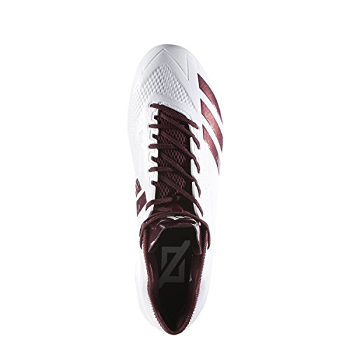 Adidas Adizero 5star 6.0 Mid Cleat Mens Football Bianco-marrone-marrone