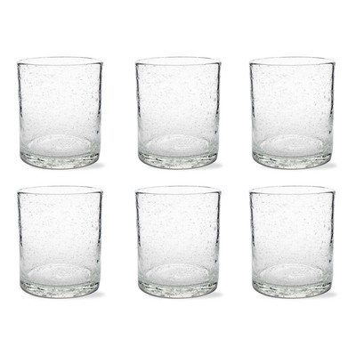 Tag Bubble Double Old Fashion Glass - Set of 6