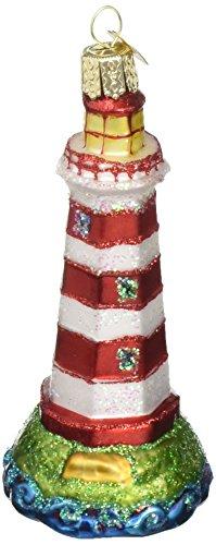 Old World Christmas Sambro Lighthouse Glass Blown Ornament