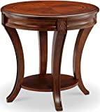 Cheap Magnussen T4115-07 Winslet Oval End Table, 25″ x 22″ x 26″