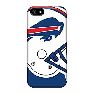 Protective Hard Phone Case For Iphone 5/5s With Customized Lifelike Buffalo Bills Pattern ZachDiebel