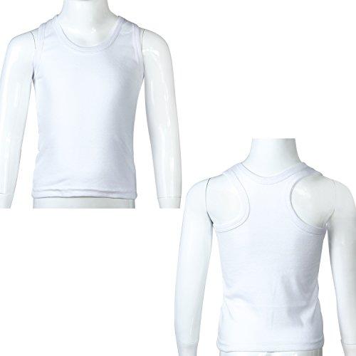 Coobey-5-Pack-Toddler-Kids-Cotton-Tank-Top-Undershirts-Boys-Girls-Soft-Undershirt-Tees