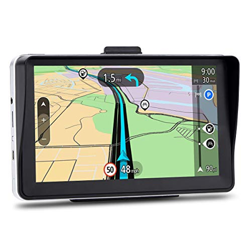 GPS Navigation for Car, 7 inches 8GB Lifetime Map Update Navigation System for Cars, Vehicle GPS Navigator