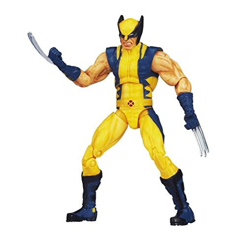 Marvel Universe Astonishing Wolverine Figure 3.75 Inches (Wolverine X Men Claw Silver)