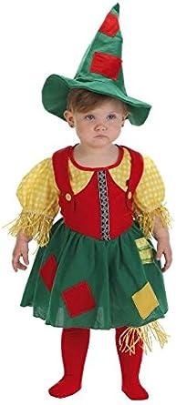 Disfraz de espantapajaros Bebe Chica: Amazon.es: Ropa y accesorios