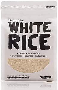 Forbidden Foods, White Rice Organic, 3kg