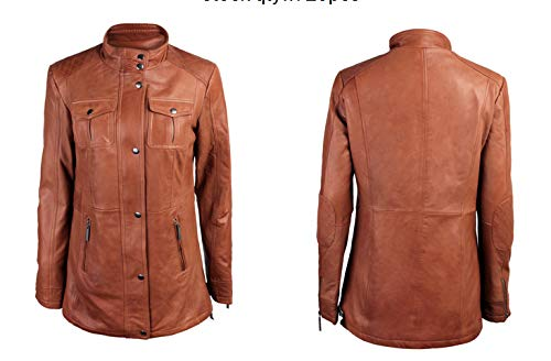 FIRST STOP Womens Leather Fit Outdoor Jacket/Size L
