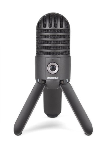 4. Samson Meteor Mic USB Streaming Microphone