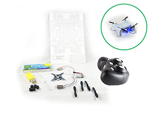 Cheap Paper Frame Drone | Quadcopter Kit | Build Your Own Mini Origami Quadcopter With Our Drone DIY Kit | Perfect for STEM Curriculum