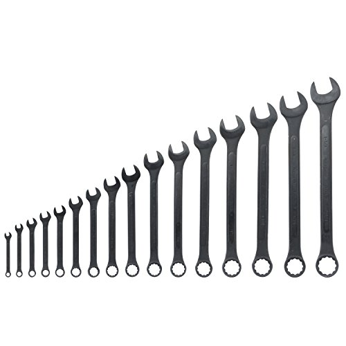- Neiko 03574A Jumbo Combination Wrench Set, 16 Piece | Raised Panel Construction | 1/4 to 1-1/4-Inch SAE Sizes