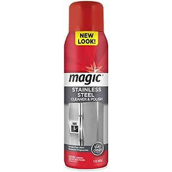 Magic Stainless Steel Cleaner Aerosol, 17 oz