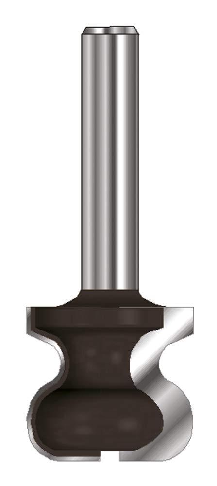 Mango 8 mm R 4,75 mm A C 19 mm R 2,4 mm Di/ámetro B 17,5 mm ENT Fresa para tiradores HW D 32 mm