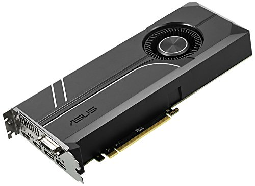 ASUS GeForce GTX 1070 TI 8GB GDDR5 Turbo Edition VR Ready DP HDMI DVI-D Graphics Card (TURBO-GTX1070TI-8G) (Dual Video Cards Sli)