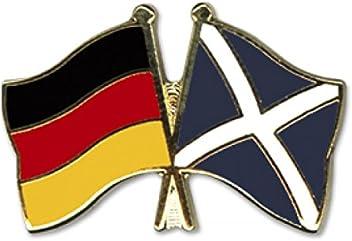 5er Pack Deutschland Ecuador Freundschaftspin Yantec Pin Flagge