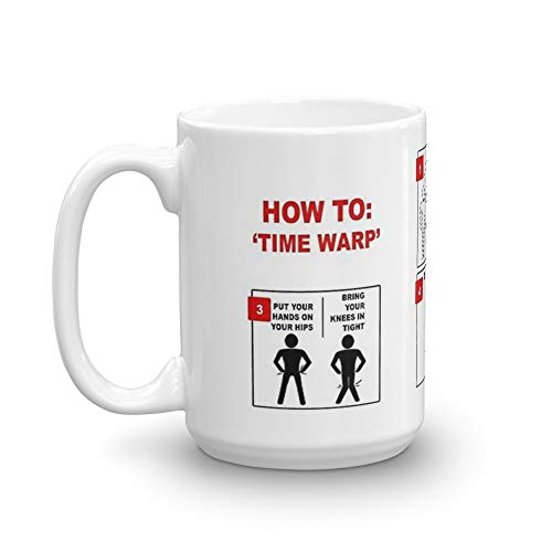 Rocky Horror Picture Show Time Warp 11 Oz Ceramic ()