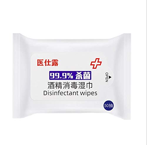 SZMH Moist Wipes Disposable Hand Alcohol Wipes Disinfectant Wipes Wet Wipes for Cleanning Hand Health Care Wipes for…