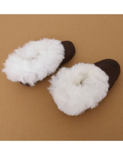 Slippers Fur Trimmed Alpaca Luxury Fur Trimmed Slippers Alpaca Luxury 7qwAFZcHv